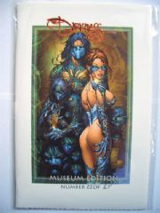 The Darkness Marc Silvestri Sketchbook Museum Edition Ltd 25